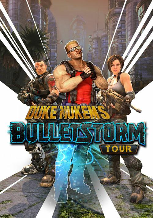 Duke Nukem's Bulletstorm Tour - Cover / Packshot