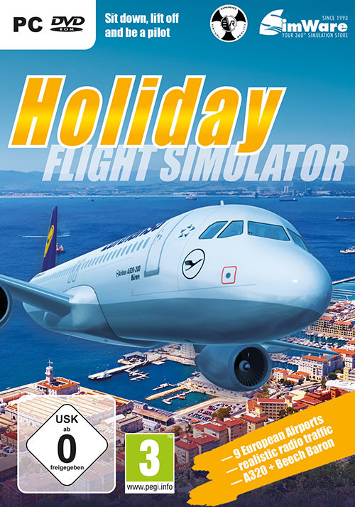 Ready for Take off - A320 Simulator - Packshot