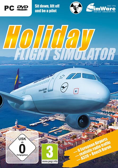 Holiday Flight Simulator - Cover / Packshot