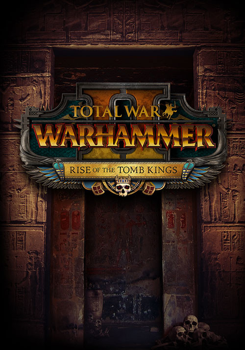 Total War: WARHAMMER II - Rise of the Tomb Kings - Cover / Packshot