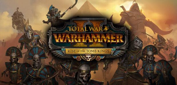 Total War: WARHAMMER II - Rise of the Tomb Kings - Cover / Packshot