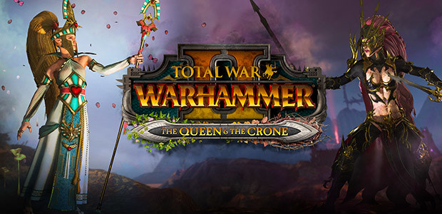 Total War: WARHAMMER II - The Queen & The Crone - Cover / Packshot