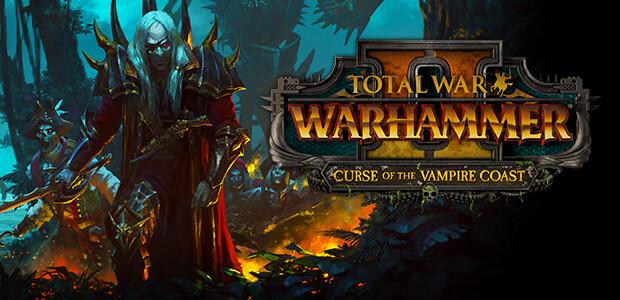 Total War: WARHAMMER II - Curse of the Vampire Coast  - Cover / Packshot