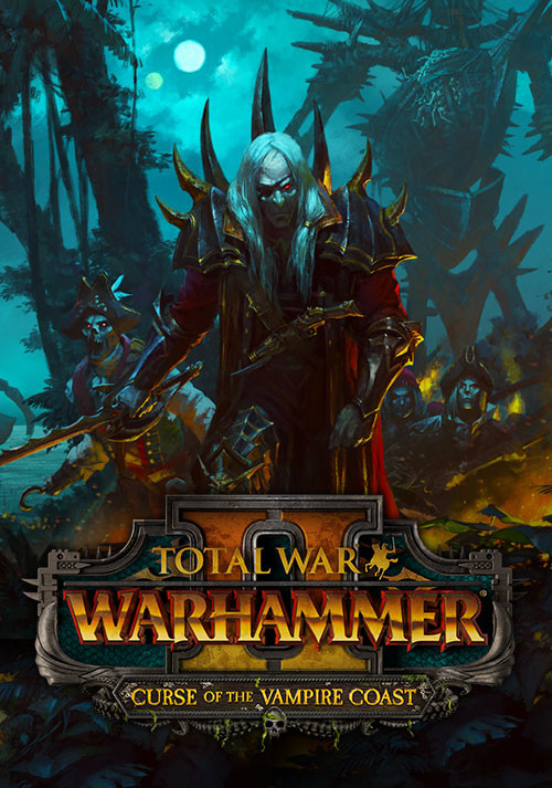 Total War: WARHAMMER II - Curse of the Vampire Coast  - Cover