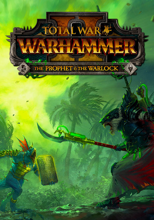 Total War: WARHAMMER II - The Prophet & The Warlock - Cover