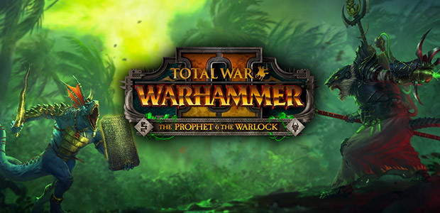 Total War: WARHAMMER II - The Prophet & The Warlock - Cover / Packshot