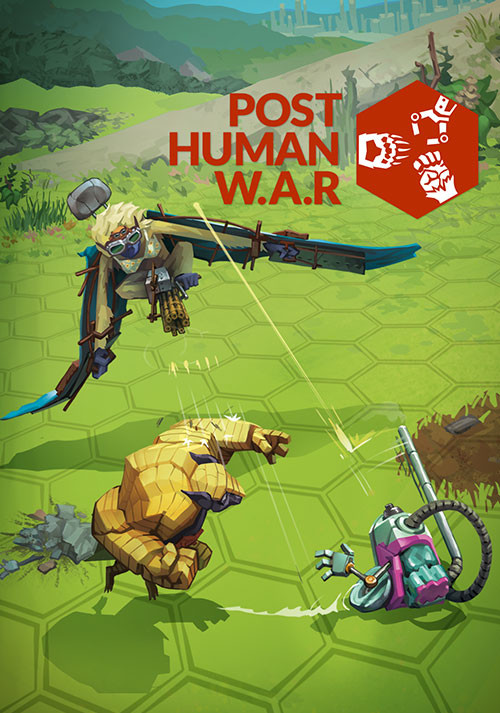 Post Human W.A.R - Cover / Packshot