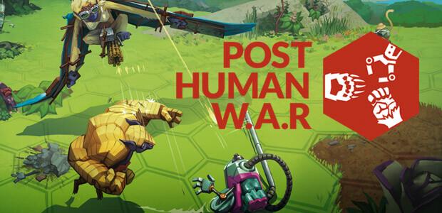 Post Human W.A.R - Cover / Packshot