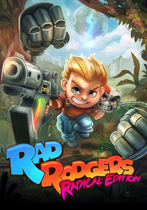 Rad Rodgers - Cover