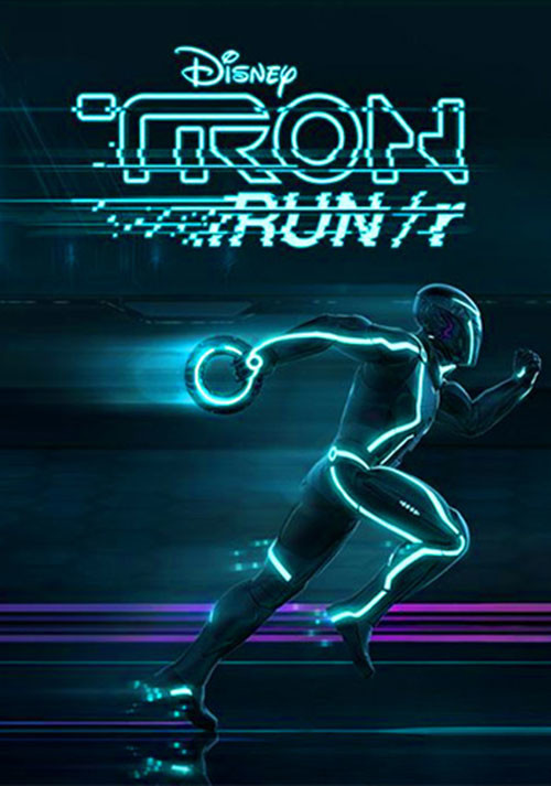 TRON RUN/r - Cover