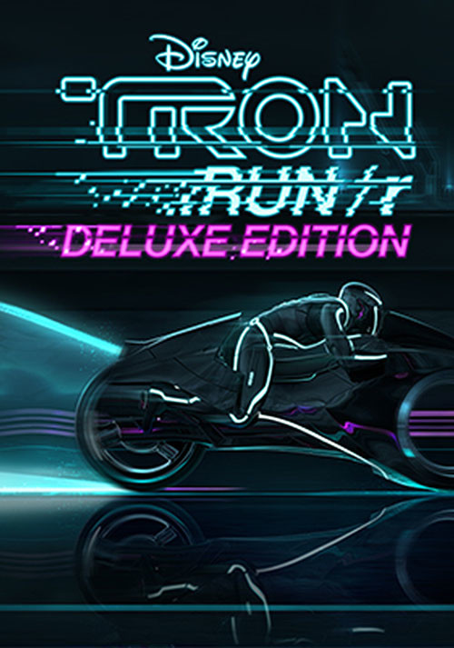 TRON RUN/r: Deluxe Edition - Cover