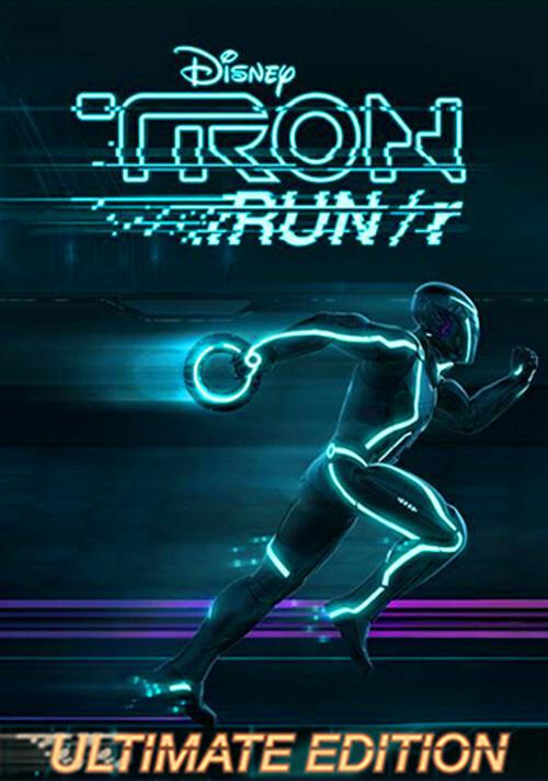 TRON RUN/r: Ultimate Edition - Cover