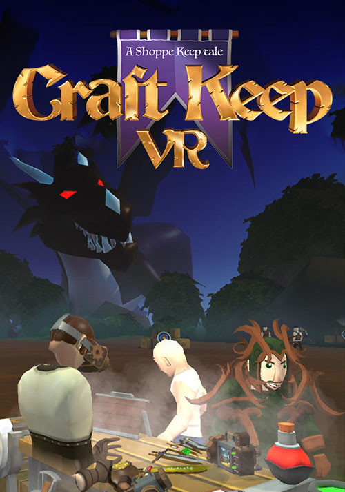 Craft Keep VR - Packshot
