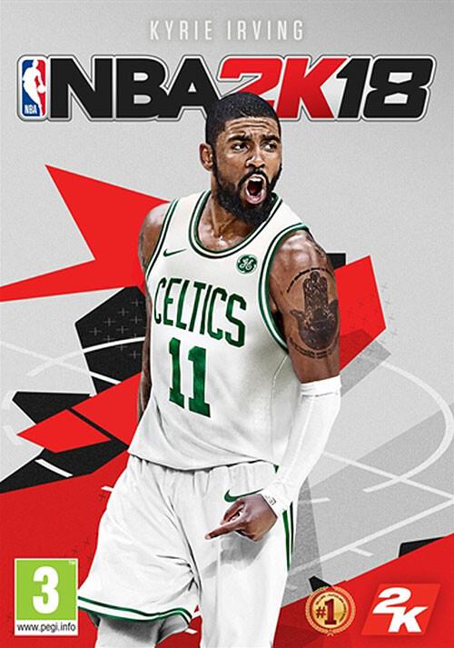 NBA 2K18 - Cover / Packshot