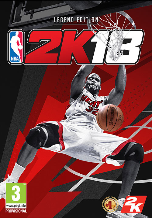 NBA 2K18 - Legend Edition - Cover
