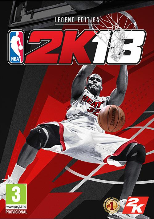 NBA 2K18 - Legend Edition - Packshot