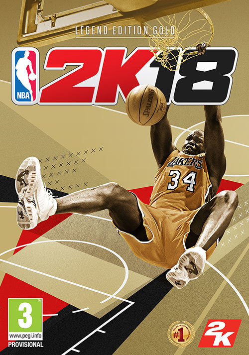 NBA 2K18 - Legend Gold Edition - Cover / Packshot