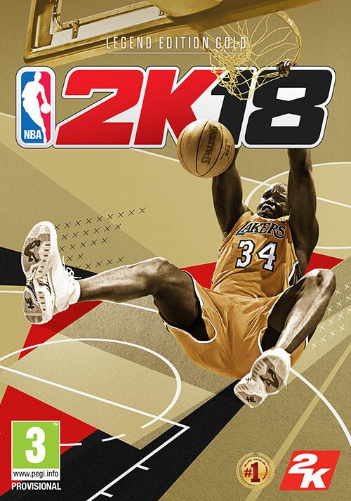 NBA 2K18 - Legend Gold Edition - Packshot