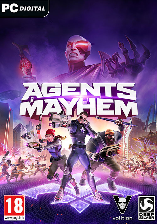 Agents of Mayhem - Cover
