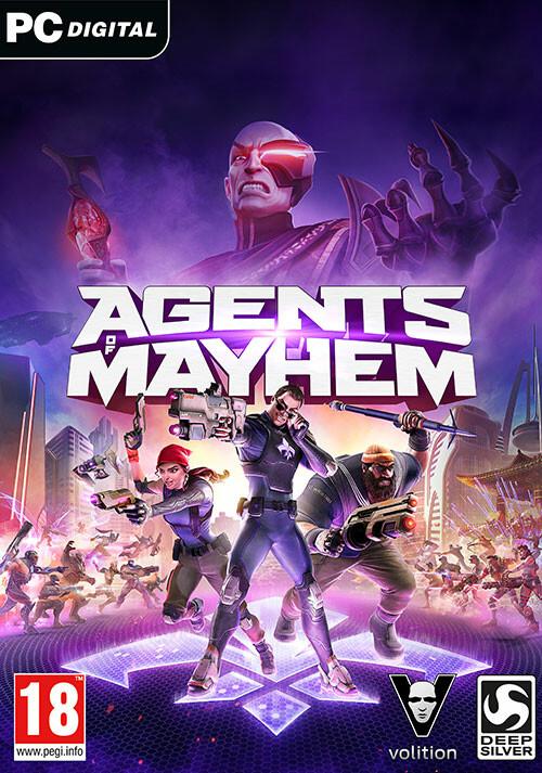 Agents of Mayhem - Cover / Packshot