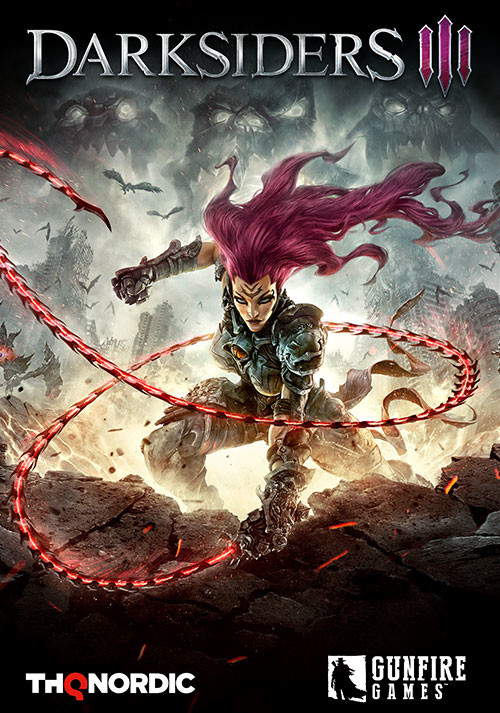 Darksiders III - Cover / Packshot