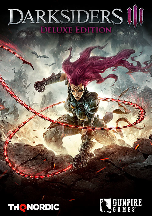 Darksiders III Deluxe Edition - Cover