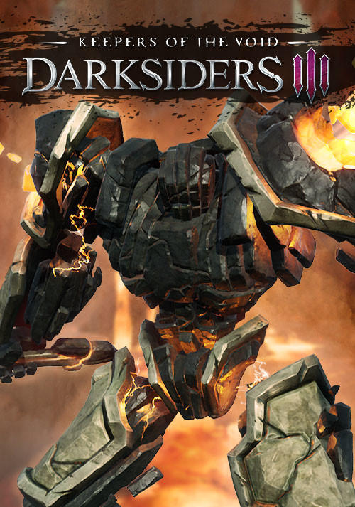 Darksiders III - Keepers of the Void - Cover / Packshot