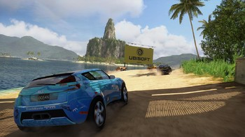 Screenshot7 - TrackMania² Lagoon