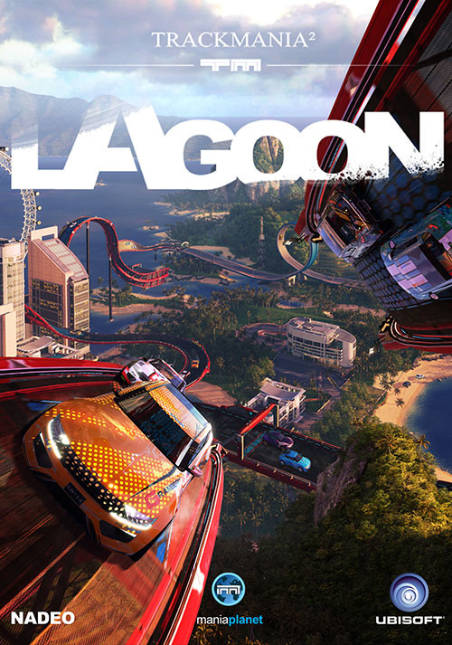 TrackMania² Lagoon - Cover / Packshot