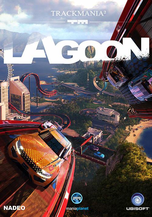 TrackMania² Lagoon - Cover / Packshot