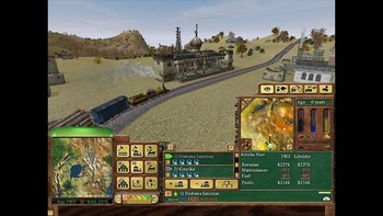 Screenshot3 - Railroad Tycoon 3