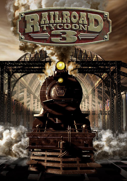 Railroad Tycoon 3 - Cover