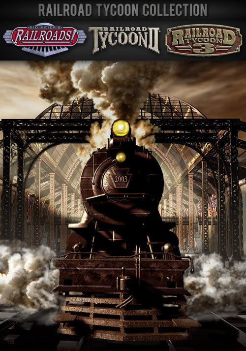 Railroad Tycoon Collection - Cover