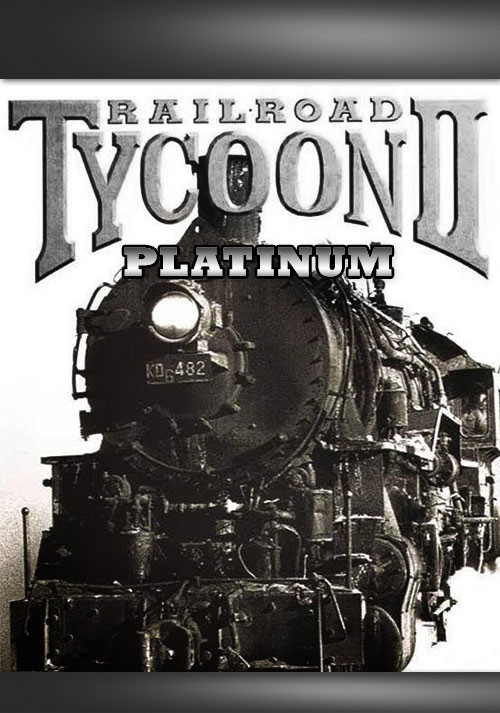 Railroad Tycoon II Platinum - Cover