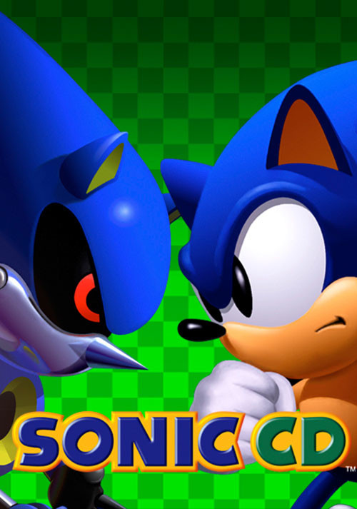Sonic CD - Packshot