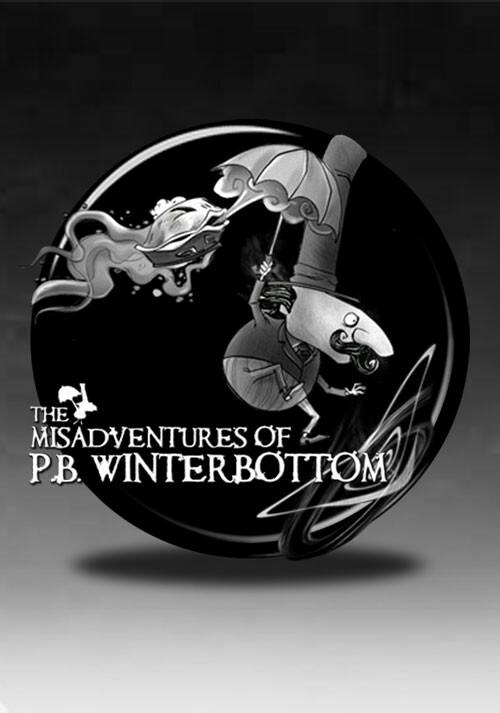 The Misadventures of P.B. Winterbottom - Cover / Packshot