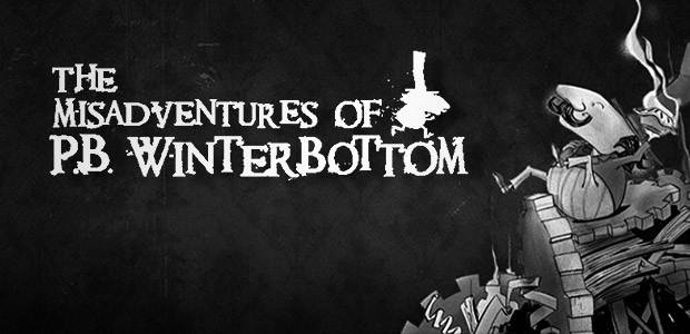 The Misadventures of P.B. Winterbottom - Cover / Packshot