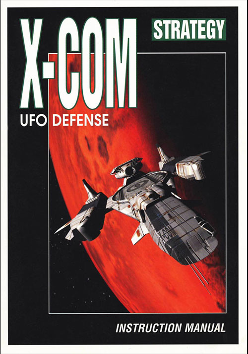 X-COM: UFO Defense - Cover / Packshot