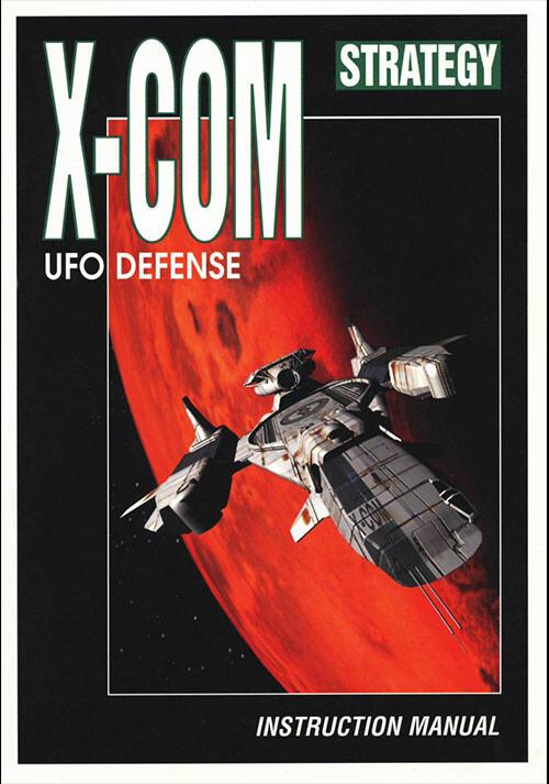 X-COM: UFO Defense - Cover / Packshot
