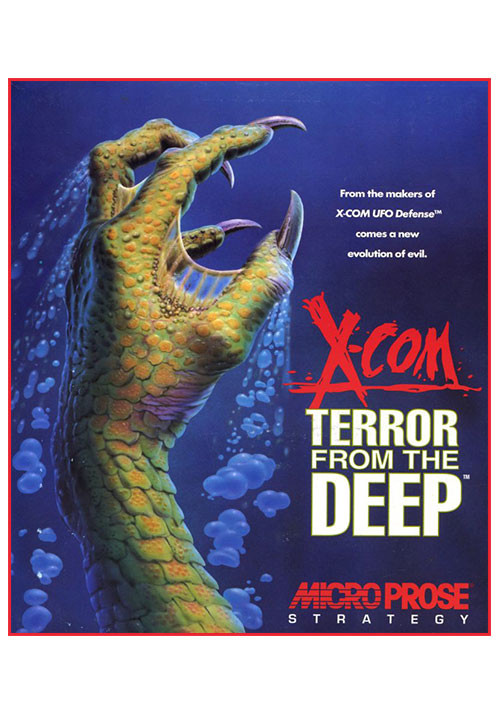 X-COM: Terror From the Deep - Cover / Packshot