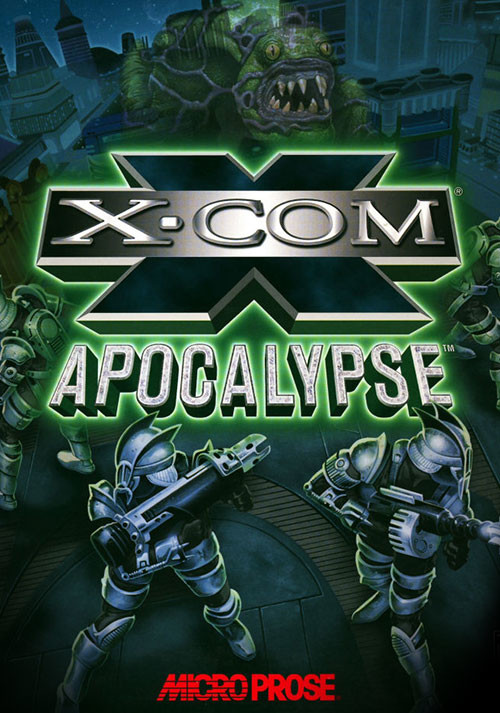 X-COM: Apocalypse - Cover