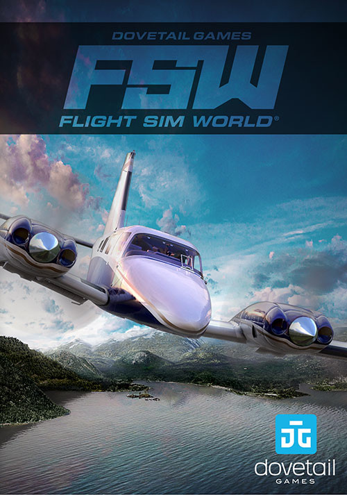 Flight Sim World - Packshot