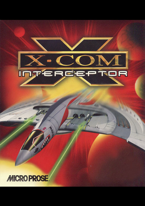 X-COM: Interceptor - Cover