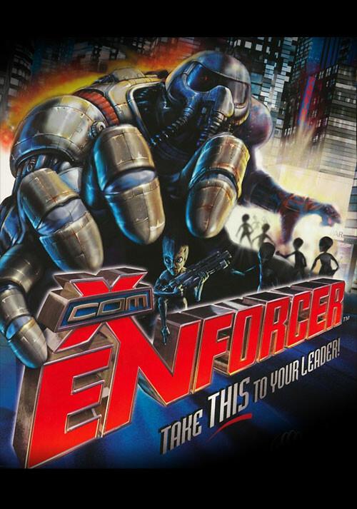 X-COM: Enforcer - Cover