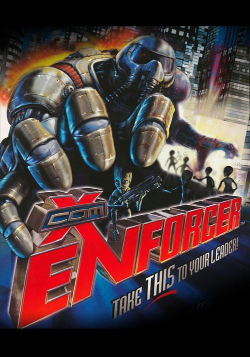X-COM: Enforcer - Cover / Packshot