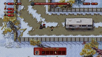 Screenshot1 - The Escapists: The Walking Dead Deluxe Edition