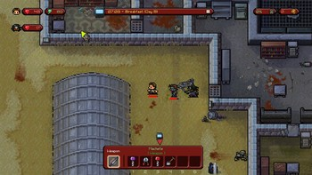 Screenshot2 - The Escapists: The Walking Dead Deluxe Edition