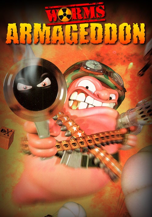 Worms Armageddon - Cover