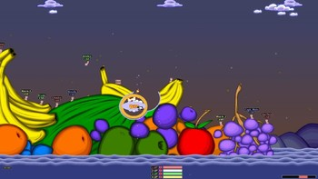 Screenshot1 - Worms Armageddon