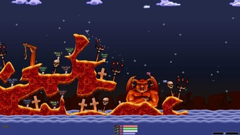 Screenshot3 - Worms Armageddon